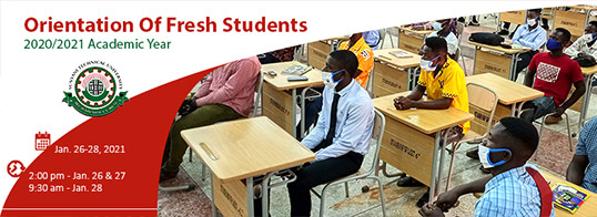 Orientation of Fresh Students