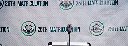 Maiden online 25th Matriculation Ceremony